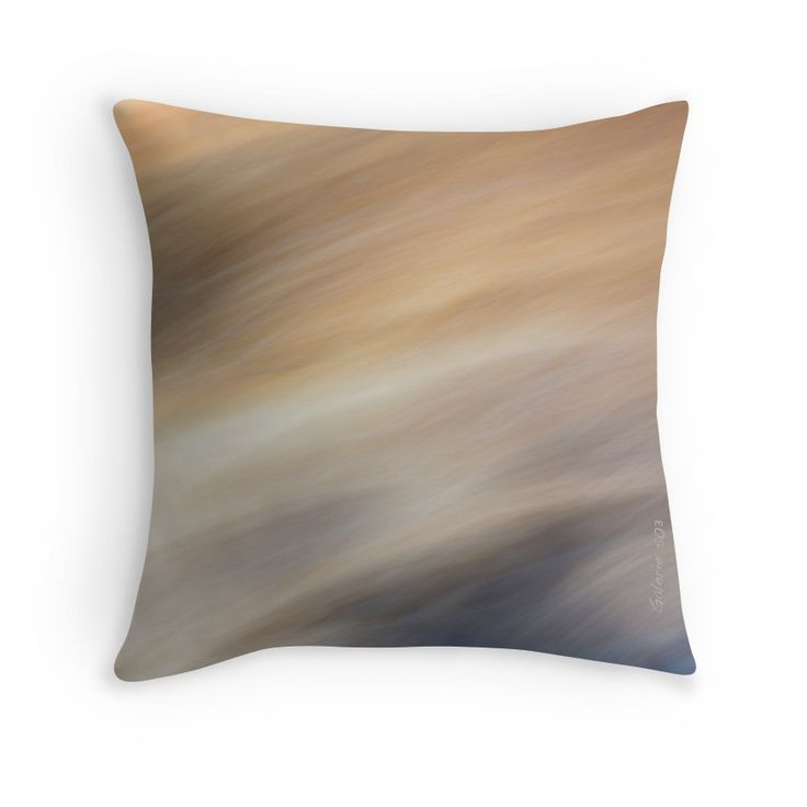 Abstract Summer Breeze Throw Pillows by Galerie 503