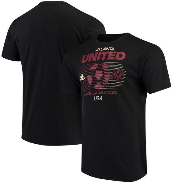 Atlanta United FC adidas Soccer World Tri-Blend T-Shirt - Black - $27.99
