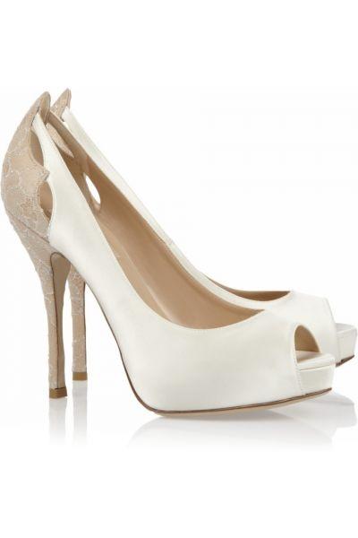 Zapatos para Bodas estilo peep toes de Valentino