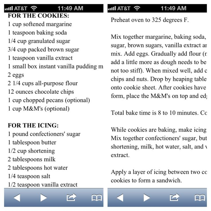 Great American Cookie Co. Copycat Recipe...cookie and icing :) (frosting for cookies powdered sugar)