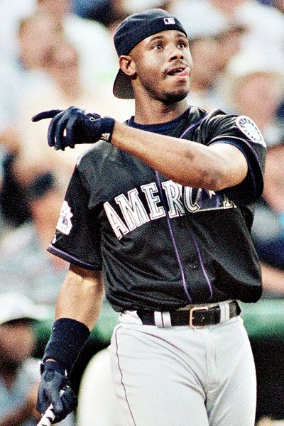 Ken Griffey Jr.... The Hat ... The Swing... The Style.... He was and still is Culture !