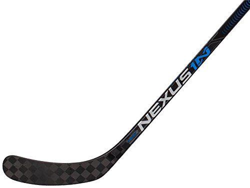 Bauer Nexus 1N Intermediate Grip Hockey Stick, Left - 60 Flex - P92 Lie 6