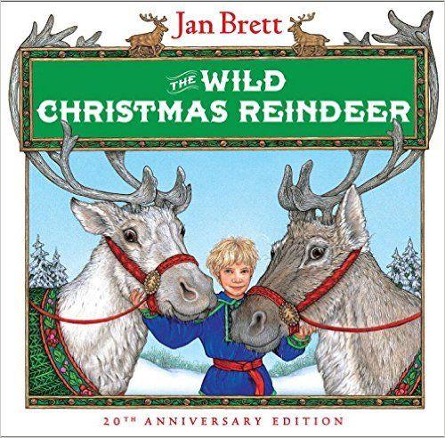 The Wild Christmas Reindeer: Jan Brett: 9780399221927: Books - Amazon.ca