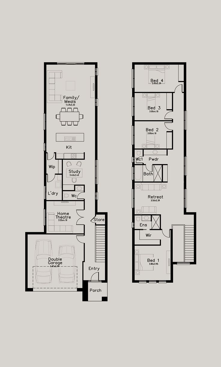 1198 best floor plans images on pinterest floor plans house floor the second image for the brolga is an optional faade for the same floor plan if you are interested in a home design our home consultants are available to malvernweather Image collections