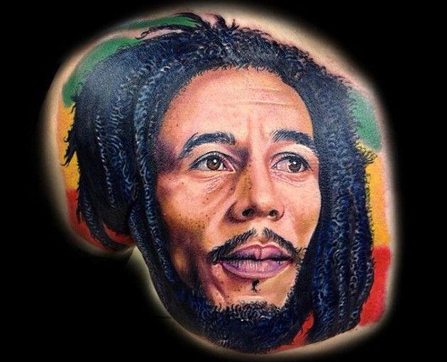 9 fantásticos tatuajes de Bob Marley