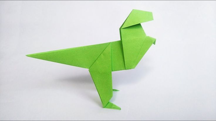 How to make: Origami Dinosaur