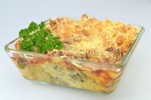 Brokkoli-Nudel-Auflauf | Cateringgerichte für Kinder