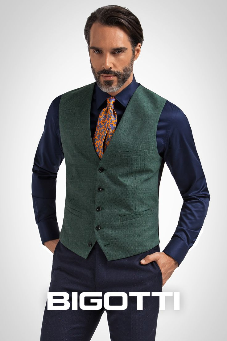 The #waistcoat – a #musthave for #mens #wardrobe www.bigotti.ro #Bigottiromania #moda #barbati #stilmasculin #vesta #slim #casual #smartcasual #formal #stofa #clasic #mensfashion #menswear #mensclothing #mensstyle #ootdmen #follow