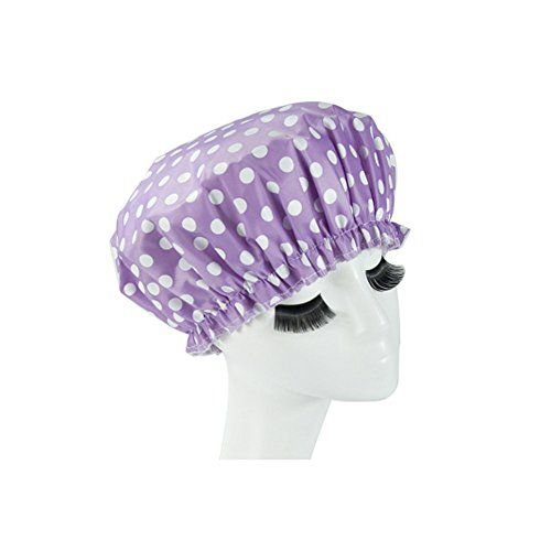 Introducing Reusable Waterproof Greaseproof Shower Cap SpaBathing Cap Cooking Hat 12. Great Product and follow us to get more updates!