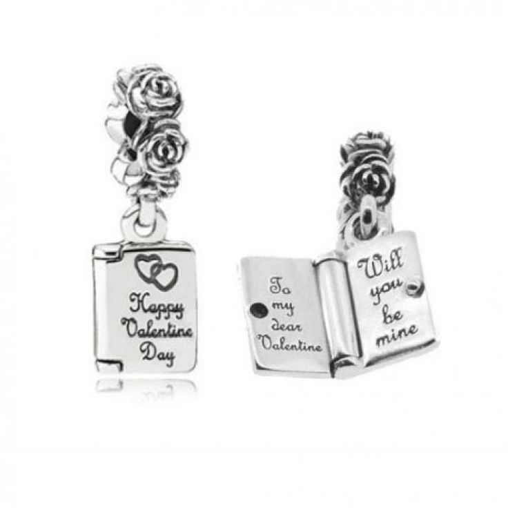 Love Note Charm Front And Inside Pandora Cathy Has It