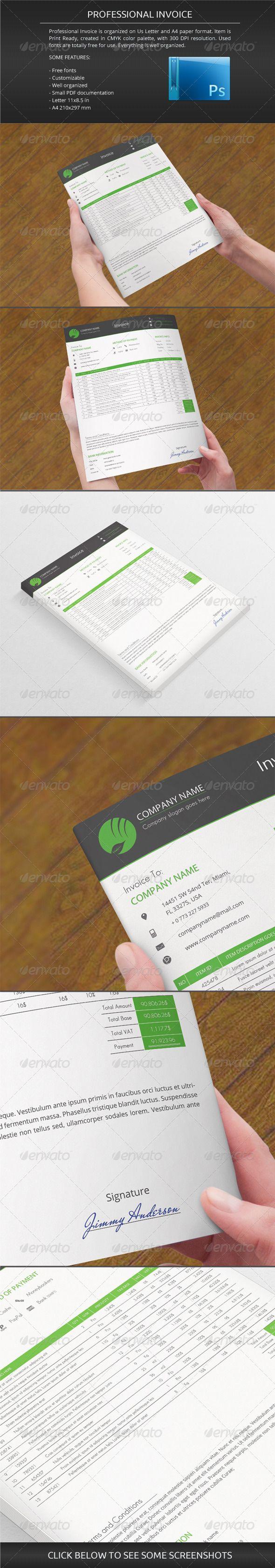 56 best invoice design images on Pinterest