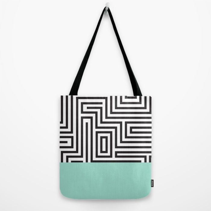 The Maze Tote Bag by Cosmic Revelations | Society6