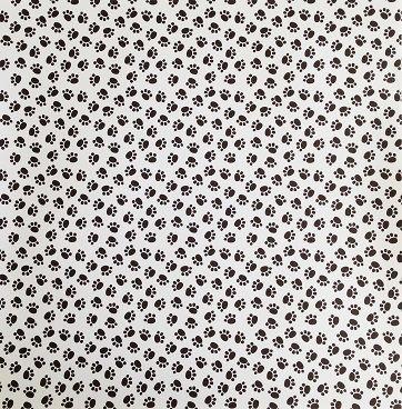 Paw Prints 12x12 Scrapbooking Paper