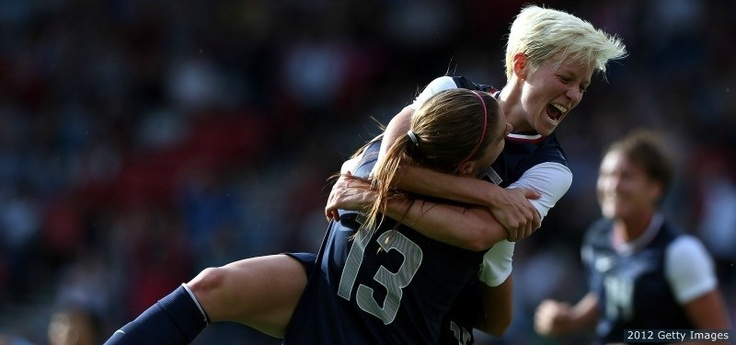 TEAM USA Women's Soccer 2012 Olympics