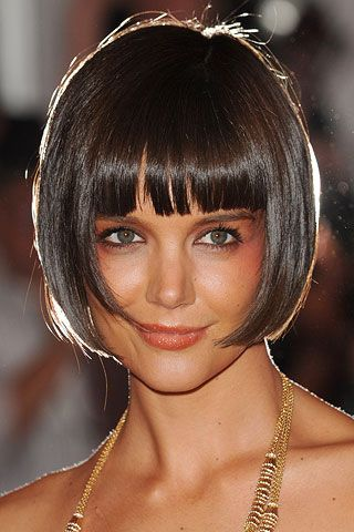 Katie Holmes Hairstyles Best 41 Best Katie Holmes Bob Haircuts Images On Pinterest  Short