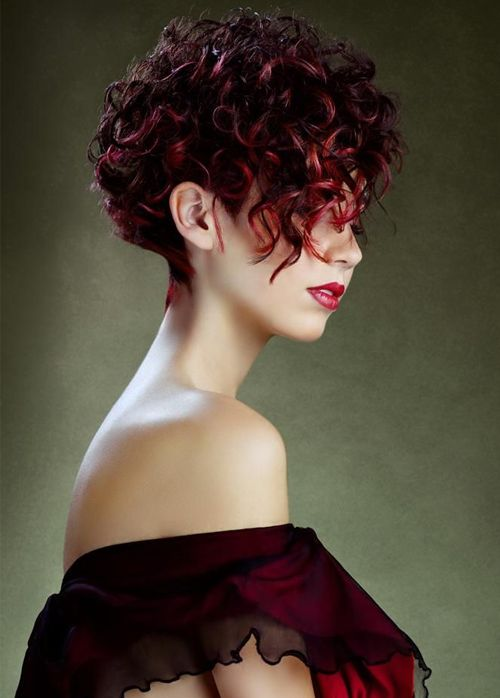 Great Short Red Fashion Hairstyles 2016