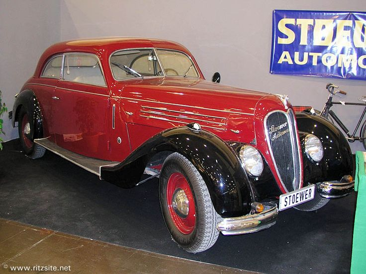 1939 Stoewer Arkona - coupe body by Gläser