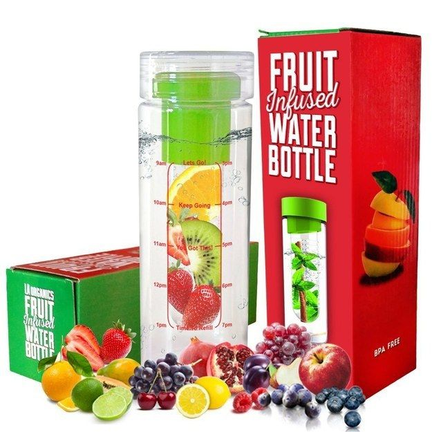 This fruit infusing water bottle that anyone who's trying to stay hydrated could really use ($8.97). | Here's What's Trending On Amazon Right Now