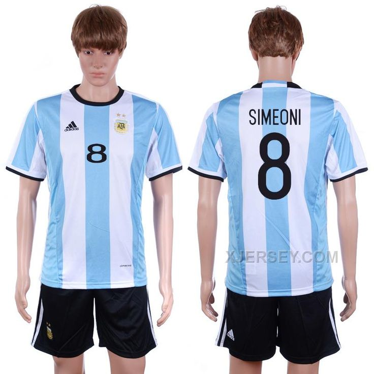 http://www.xjersey.com/argentina-8-simeoni-home-2016-copa-america-centenario-soccer-jersey.html ARGENTINA 8 SIMEONI HOME 2016 COPA AMERICA CENTENARIO SOCCER JERSEY Only 33.11€ , Free Shipping!
