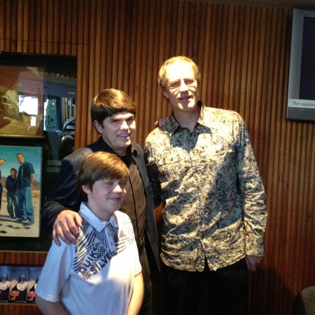 Dean Kuntz with Hawken and me
