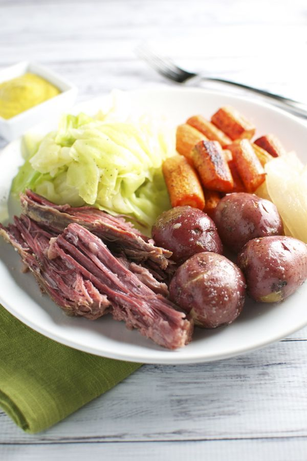 Corned Beef and Cabbage with the Fixins'   Recipe   Cabbage, Meals and Dinners