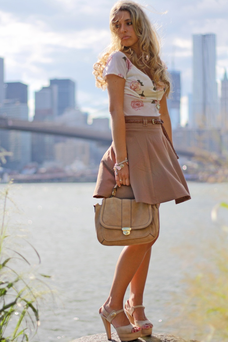 Love the outfit!Clothes'S Fashion, Fashion Passion, Summer Outfit, Skirts Heels, Fashion Boards, Brooklyn Bridges, Spring Summe Fashion, Clothing Fashion, My Style