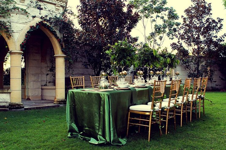 Enchanted Garden Setting | Evergreen Garden Venue | Styled by Sugar and Spice Events | Amy Neeson Photography