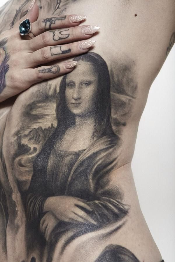 Incredible Leonardo Da Vinci Inspired Tattoos  ink junkie