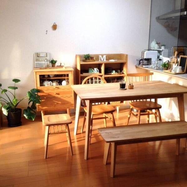 【モモナチュラル】の家具を使ったインテリア実例まとめ☆ | folk                                                                                                                                                     もっと見る