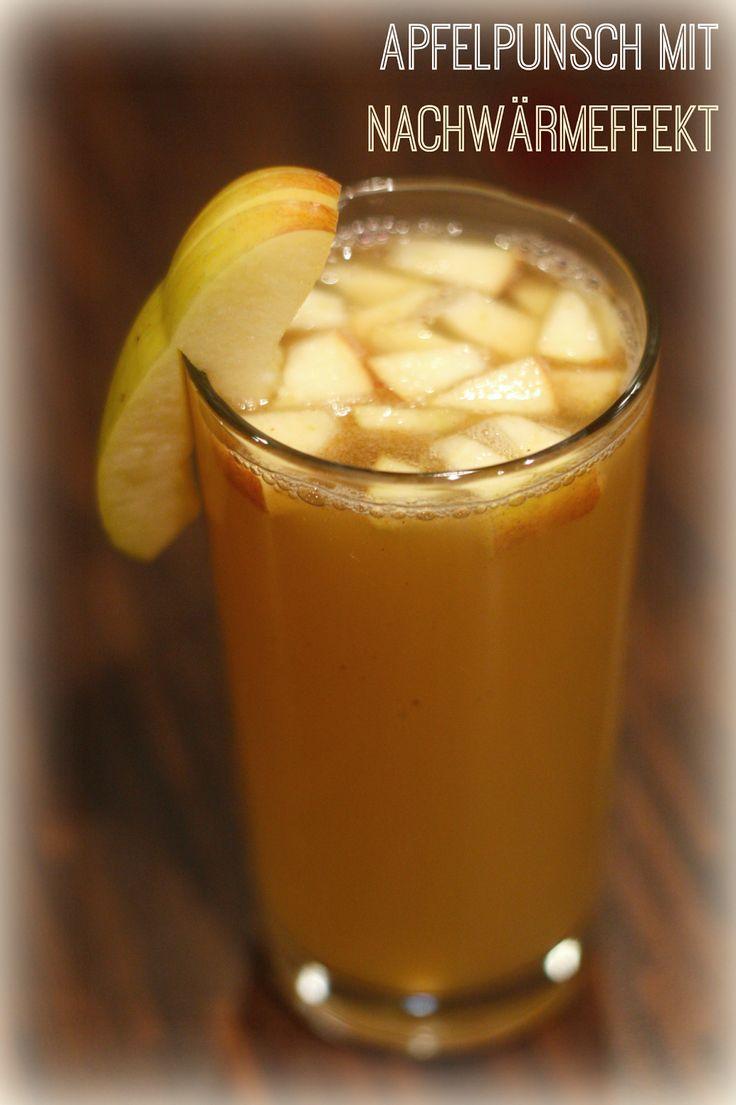 Heute mal ein Rezept für etwas heißes Trinkbares. Gerade wenn es draußen so nieselig-kalt ist, tut das soooo gut.