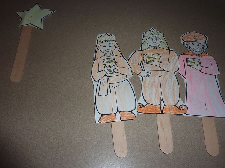 17 best images about children 39 s crafts on pinterest for Three wise men craft