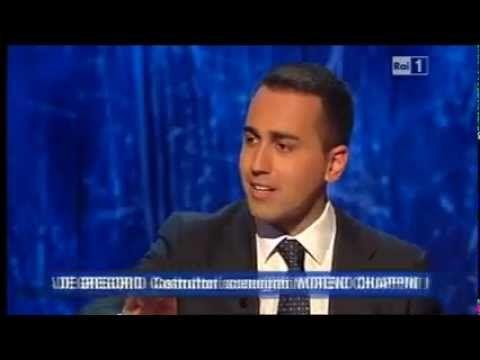 """Luigi Di Maio (M5S) - L'Arena di Giletti """"Le mani sull'Expo"""" - YouTube"""