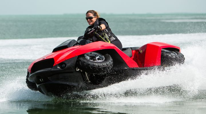 I WANT ONE They can sell the ATV Jet Ski because it isnt road