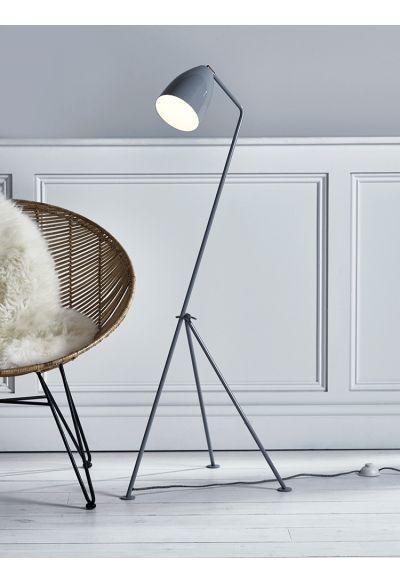 NEW Knox Grey Floor Lamp - Lighting