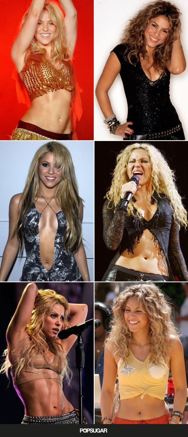 Must-see Shakira pictures from through the years!