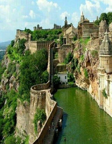 La India Benteng Chittorgarh