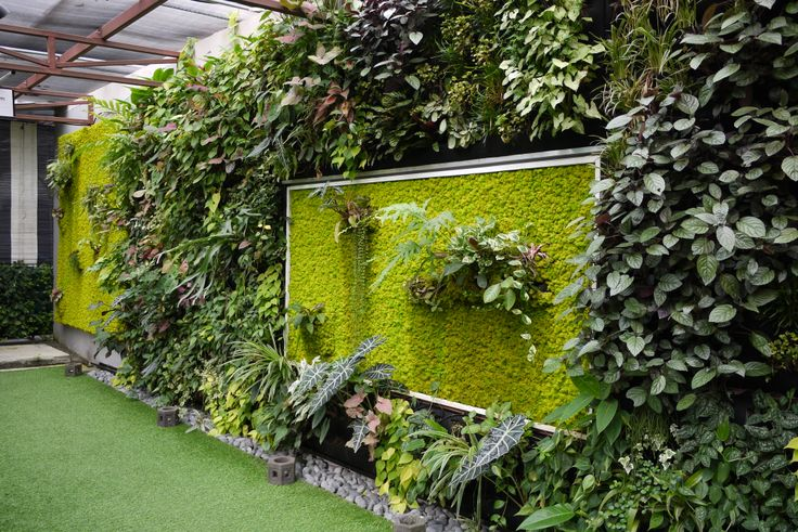 Greenology Moss walls with the Greenology Vertical Greeenery(GVG)