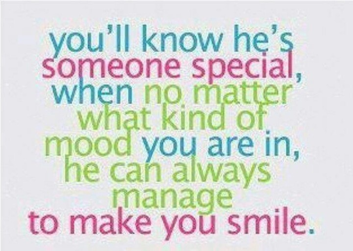 30 Love Quotes That Make You Smile: He Can Always Manage To Make You Smile
