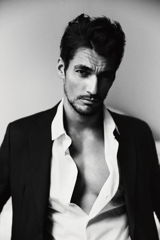 David Gandy, in Giorgio #Armani, shows us why he's one of the world's most sought after male models.