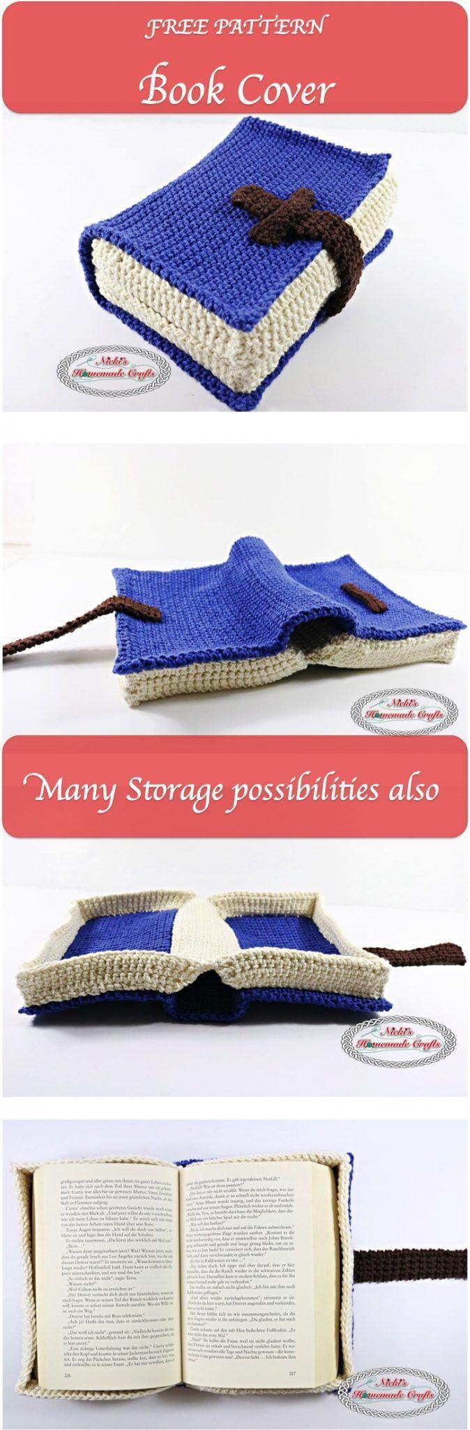 Free Crochet Paperback Book Cover Pattern : Best crochet book cover ideas on pinterest