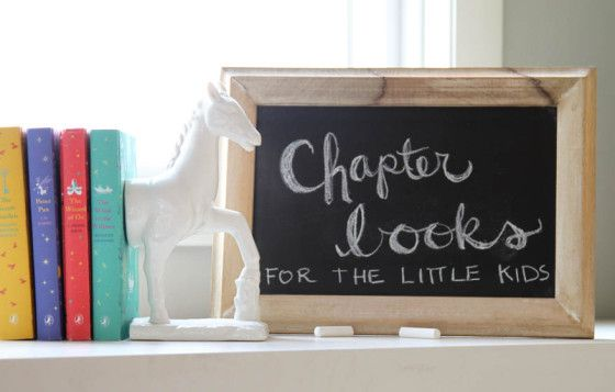 list of chapter books for little kids (also check the comments section for additional titles)