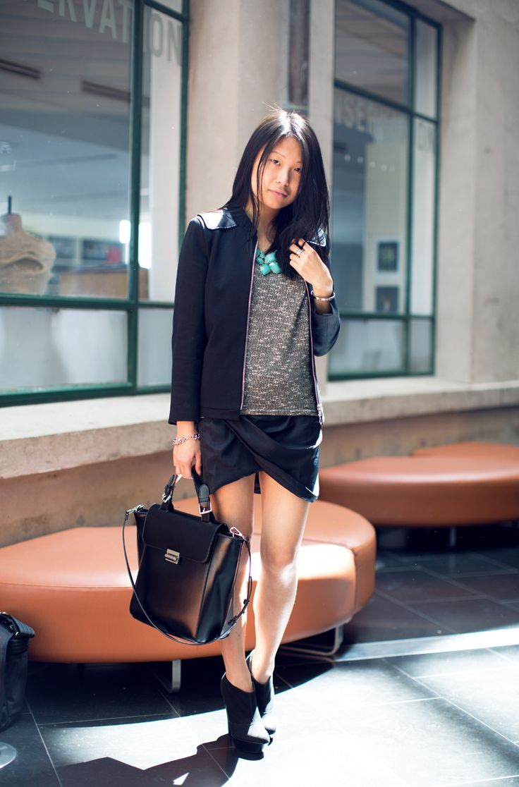 best 25+ black leather skirt outfits ideas on pinterest | leather
