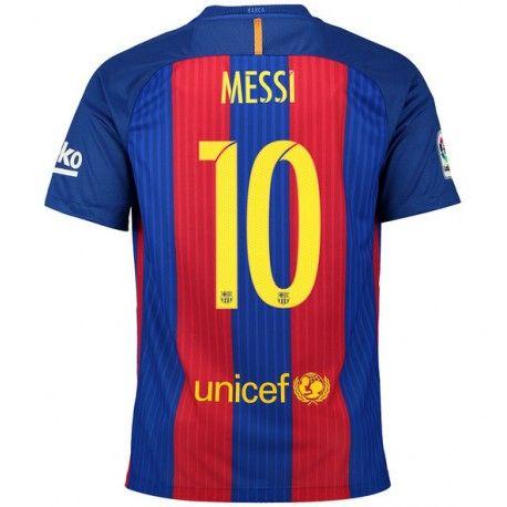 Camiseta de Messi del FC Barcelona 2016 2017