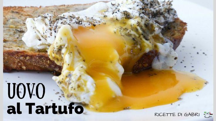 UOVO AL TARTUFO con tuorlo liquido - RICETTE DI GABRI Kitchen Brasita