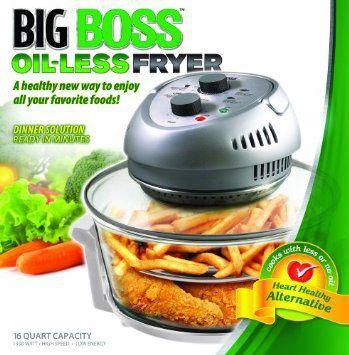 Big boss oil-less fryer recipes!