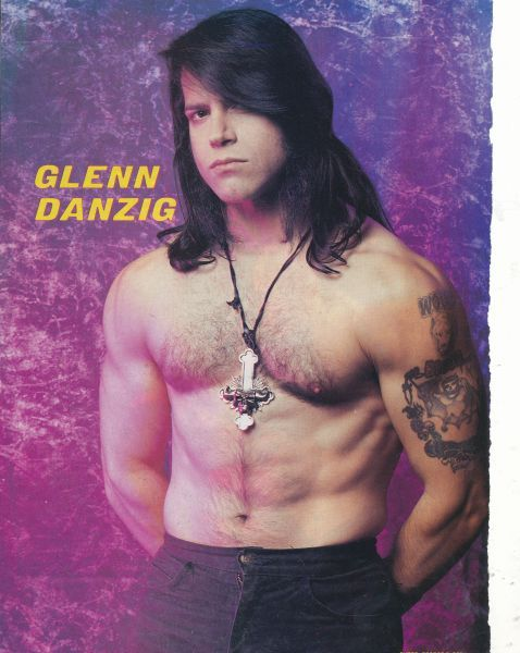 Glenn Danzig / I'm pretty sure I had this poster on my wall. :)