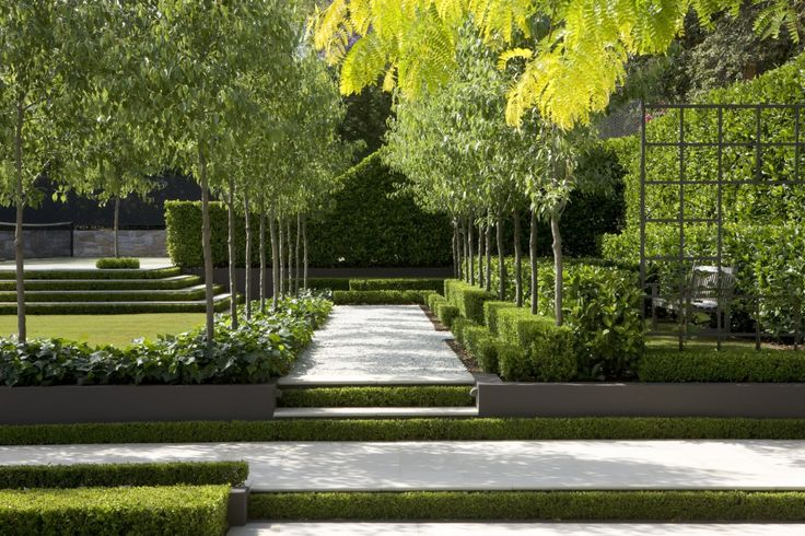 Contemporary Landscape Designs: Thinking Spring Green