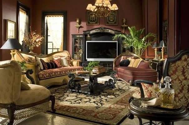 Victorian decor italian living living rooms families room design
