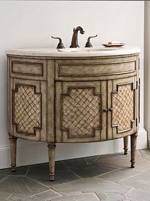 Vanities For Half Bath 7 best antique bathroom vanity images on pinterest | antique