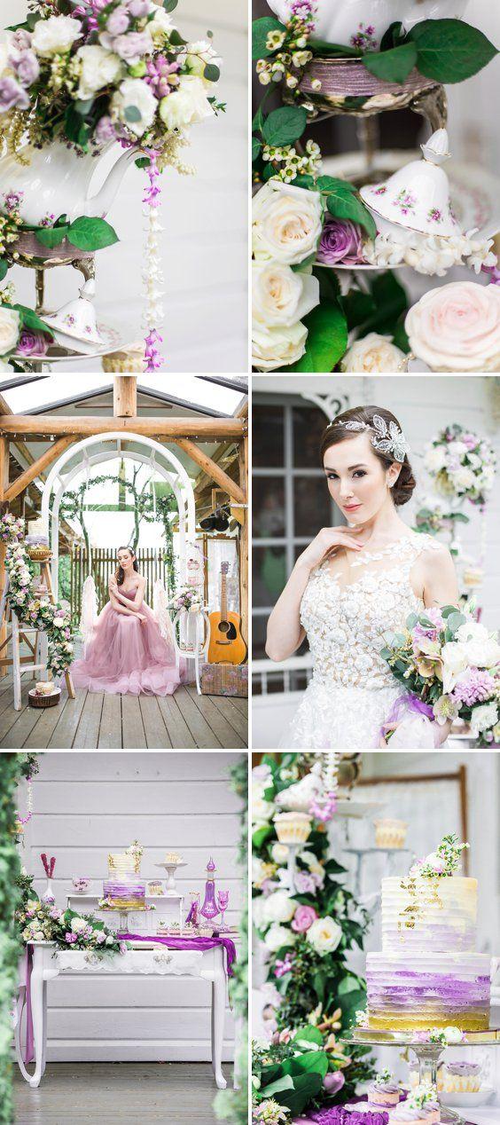 Whimsical Lavender Fairytale Wedding Inspiration A Princess Inspired Blog And The Pea B Vintage Tea Disney S Tangled Decor